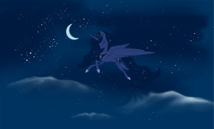 Night is Beauty by MysticMistSong