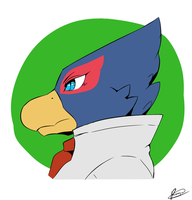 Falco Head by Reagan700