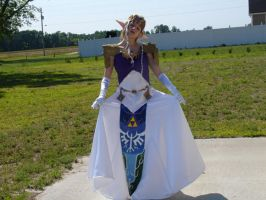 Princess Zelda by Cosplay-Pirates