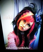 (visual kei hair ) what are you looking at fool ? by suki42deathlake