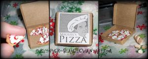 Pizza Box by abohemianbazaar