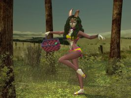 Easter Bunny Hop by WickedPrince