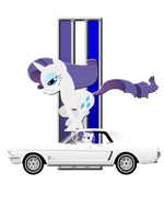 Shirt design- Mustang Rarity by GoneIn10Seconds