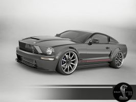 shelby GT 500 by 3dmanipulasi