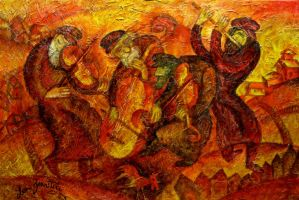 Image Old Klezmer Band by artbyleon