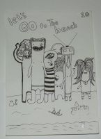 Let's go to the beach by DoodleBros