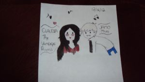 Claudia and Jamo Muki by AT-Marceline