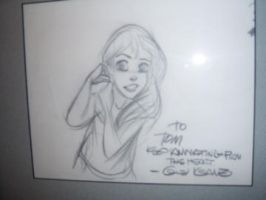 On the walls_Glen Keane Ariel by tombancroft