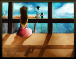 Spirited Away - Longing by YuriNomNom