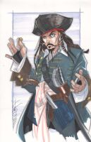 Captain Jack Sparrow by Hodges-Art