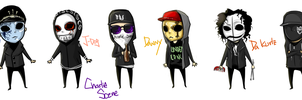 Hollywood Undead by Cadavirus