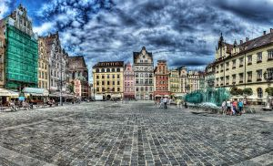 Wroclaw Main Square HDR by Athrian