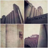 Montreal silo by jfdupuis