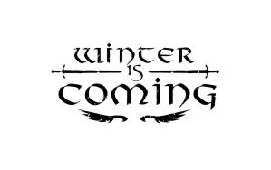 Winter is Coming (White) by Jp-3