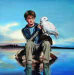 Harry Potter And Hedwig by CAMartin
