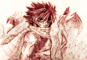 Natsu Dragneel by Or003