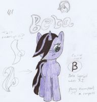 Old drawing: Beta by SSBBSomecallmeGaz