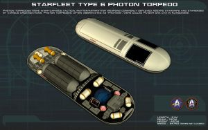 Photon Torpedo [24th Century] Tech Readout by unusualsuspex