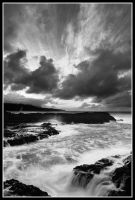 Turbulent Tides BW by aFeinPhoto-com