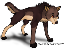 Wolf for Intrepid-Journey by WhiteWolfCub16