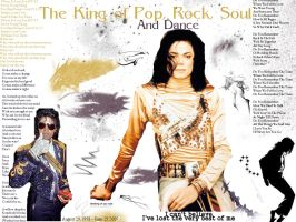 The King of pop, rock and soul by Yuki-kami