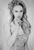 Lana del Rey portrait by DarkDeadRose