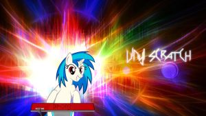 Vinyl Scratch Wallpaper by Kigaroth