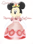 KH2 Queen Minnie - WIP by PassionSoul