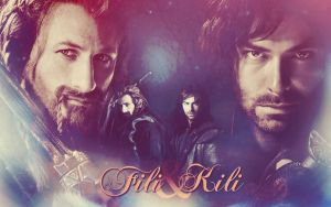 Fili and Kili - The Hobbit by JacobBlacksPrincess