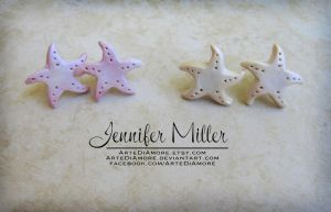 Starfish Earrings by ArteDiAmore