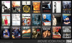Movie Icon Pack 164 by FirstLine1