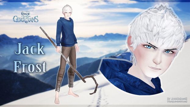 [MMD] Jack Frost DL by Voice01