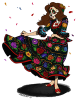 Day of The Dead Marszenka by Mayocat