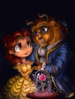 Beauty and the Beast by rue789