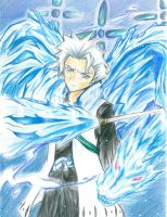 Hitsugaya Toushirou-Coloured- by NingennoKanashimi
