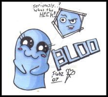 Fosters - Chibi Bloo by subzeroace