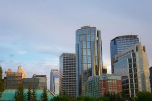 Calgary - Downtown from P.I.P by Kaie13