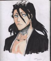 Kuchiki Byakuya by StrawberryLoveAlways