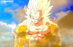 Vegeta super saiyajin 4 alterno by salvamakoto