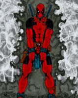 Deadpool - Last Man Standing by pascal-verhoef