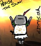 Praise the sun! by En-Sinclaire
