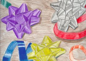 Ribbons and Bows by wingstopboy
