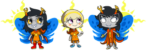 HS: Chibi Heroes of Light by Strontium-Chloride