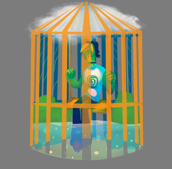 A cage of mind by shinakazami1