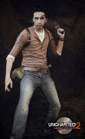 Nathan Drake - Uncharted 2 #2 by Akiba91