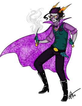 Horrorstuck Eridan by Squidbiscuit