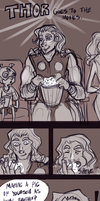 Thor goes to the movies by Avibroso
