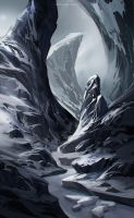 frozen river by sheer-madness