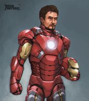 Iron Man by FonteArt