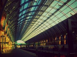Kings Cross - Harry Potter - London by LucaHennig